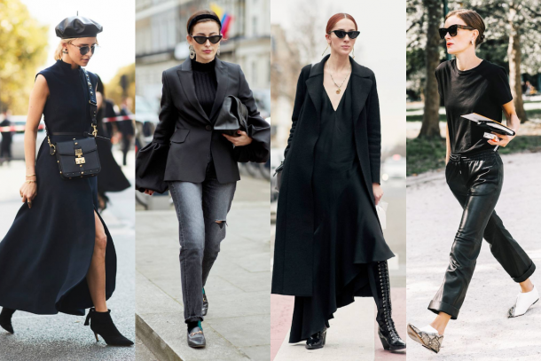 How To Wear – Black Outfits