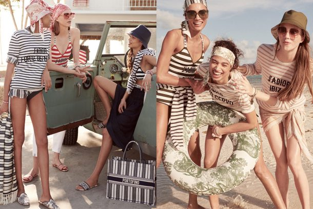 "DIOR ""DIORIVIERA"" Beachwear Collection Lookbook"