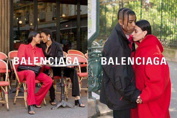 捕捉巴黎情侶的浪漫氛圍 BALENCIAGA A/W19 Campaign