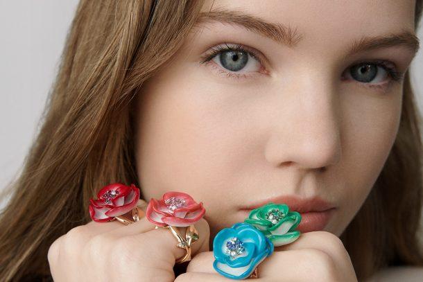 Dior Joaillerie 推出二十週年 ROSE DIOR POP 珠寶系列