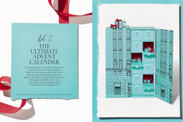 Tiffany & Co. 「倒數聖誕」禮物套裝