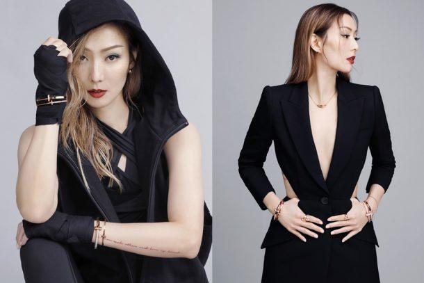Sammi 為 Tiffany & Co. T1 系列拍攝宣傳短片,氣場全開!