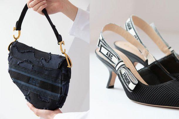 ABCDior 訂製服務進化! Saddle Bag、Lady Dior、高踭鞋都能繡上你的名字!