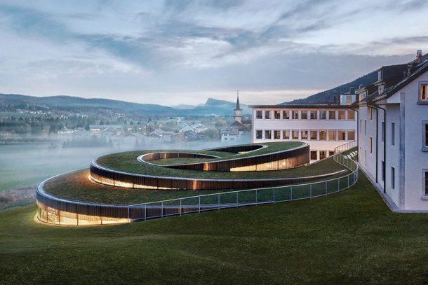 科幻感螺旋形建築!Musée Atelier Audemars Piguet 名錶博物館已開幕!