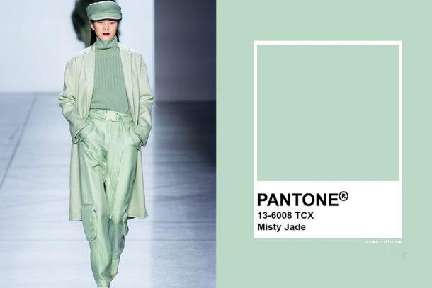 秋天來臨前,學會 Pantone 「2020 秋季流行色調」——Misty Jade 的時尚穿搭!