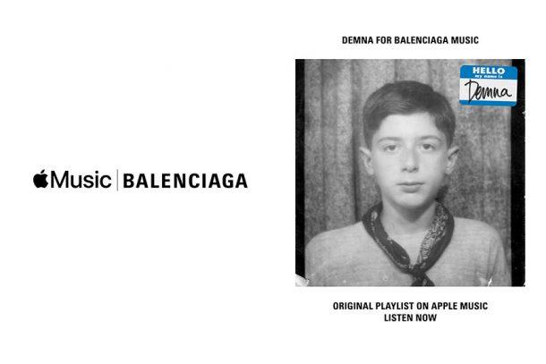 用音樂感受時尚!Balenciaga playlist 登陸 Apple Music!