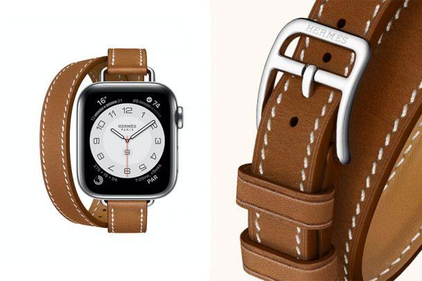 全新 Apple Watch Hermès 纖細幼錶帶加錶耳連接,把優雅帶在手上吧!