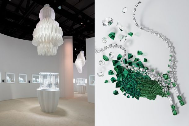 Cartier 於上海藝倉美術館帶來高級珠寶展,以全新 [Sur]naturel 系列演繹自然之美。