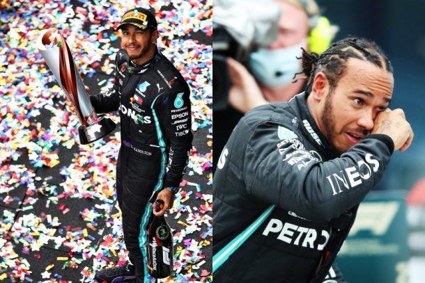 Lewis Hamilton 正式成為七屆 F1 世界冠軍,今屆兩度寫下重要記錄時,手上名錶原來別具意義?