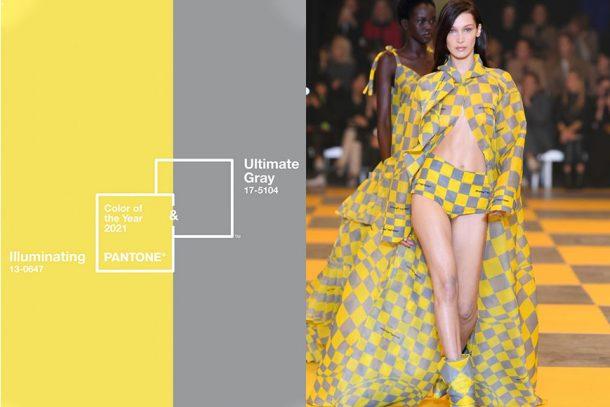 Pantone 2021 年度代表色出爐!一篇盡覽如何將「極致灰」與「亮麗黃」融入在穿搭當中!