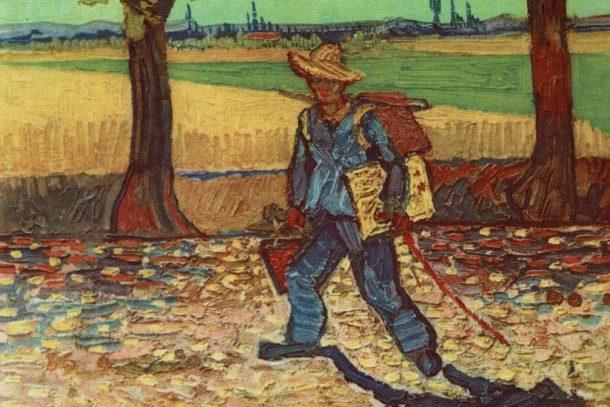 被指二戰時燒毀,梵高生平唯一全身自畫像《The Artist on the Road to Tarascon》,可能仍在世上?