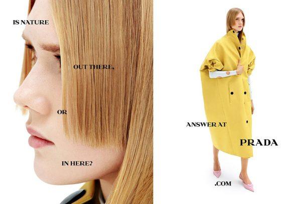 Raf Simons 加入 Prada 後首個廣告,連串問題引發大家反思!