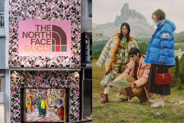 The North Face x Gucci  聯名系列展開!全新 Gucci Pin 期間限定店,成為最新打卡熱點