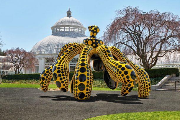 草間彌生戶外展覽《KUSAMA: COSMIC NATURE》登陸紐約植物園!