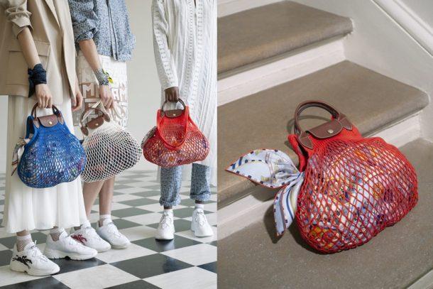 今季最時尚輕巧的「漁網袋」!Longchamp x Filt 聯乘系列話題新作 Le Pliage Filet!