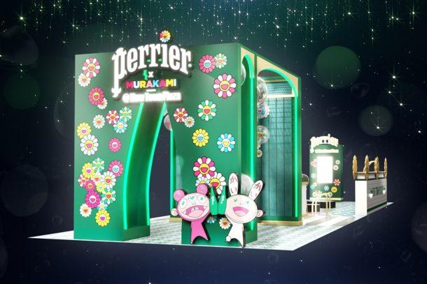 Perrier x 村上隆全港首個限定主題 Concept Store 登陸沙田新城市!4 款限量聯乘氣泡水開賣 + 6 大打卡位!