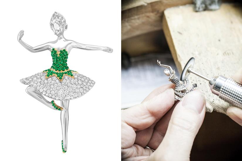 由香港芭蕾舞團演出的《巴蘭欽〈珠寶〉》獲 Van Cleef & Arpels ,在欣賞精彩舞蹈表演的同時,細賞非凡的珠寶藝術。