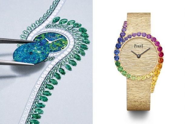 #2021鐘錶與奇蹟:Piaget Limelight Gala 系列腕錶以彩色寶石演繹日暮與彩虹的光影之美。