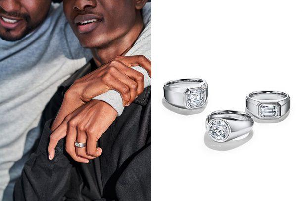 為男士們的愛情加冕!Tiffany & Co. 首推男士訂情戒指系列:The Charles Tiffany Setting