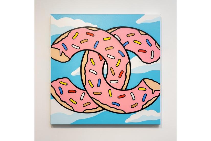 13a New Street Art Gallery_Mr. Likey_Melt Like Dali