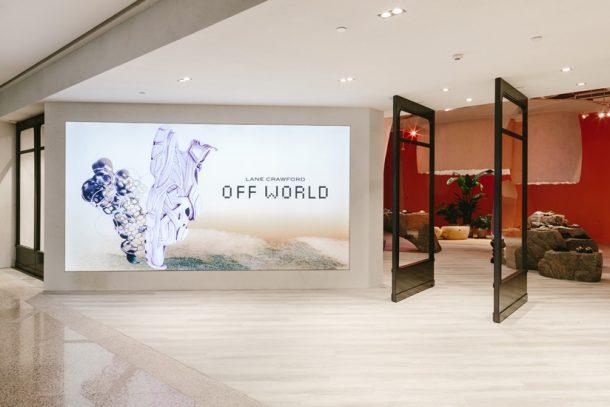 連卡佛帶來全新時尚藝術空間 NEW WORLD5,以鞋履為主打的「OFF WORLD」率先登場!
