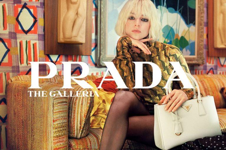 Hunter Schafer Prada Galleria