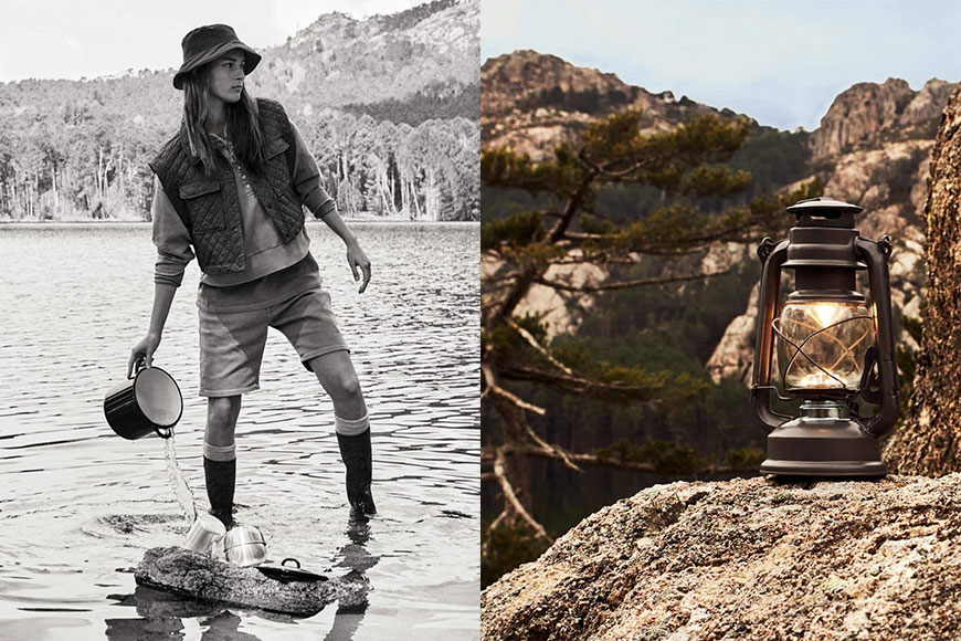 Zara Outdoor Collection Into The Nature