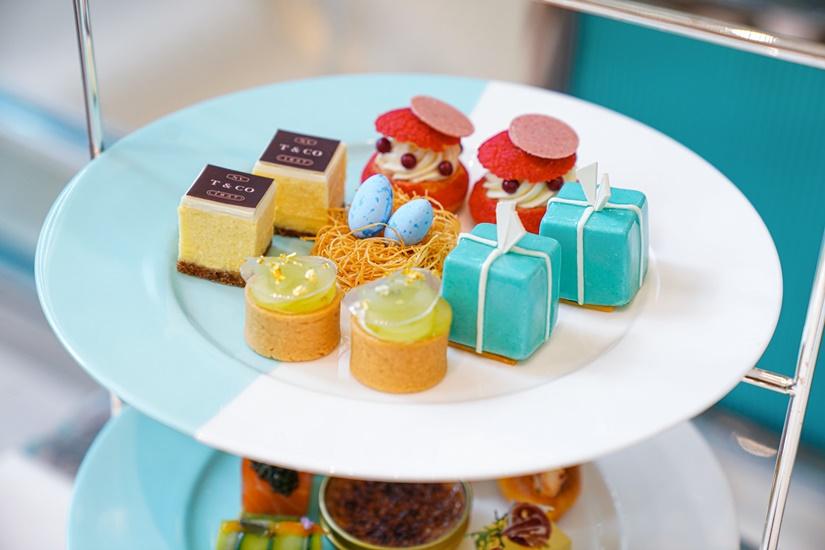 Tiffany Blue Box Cafe 清新春日下午茶