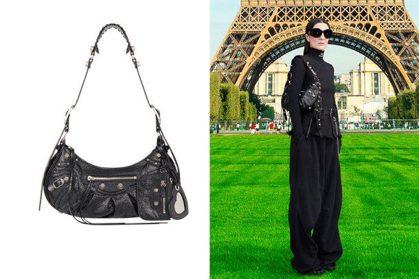 重新演繹經典「機車包」!Balenciaga 推出全新 Le Cagole 掛肩手袋