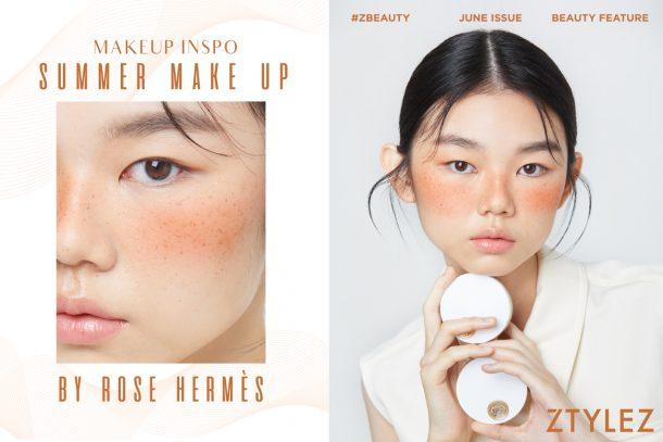 【#ZBeauty】MAKEUP INSPO – Summer Make Up by Rose Hermès