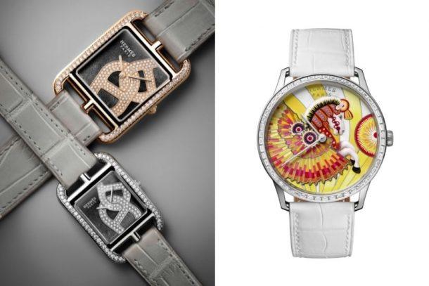 Hermès 釋出 Cape Cod 及 Slim d'Hermès 全新錶款,換上華麗珠寶款式,更鐫刻上充滿藝術感的飛馬!