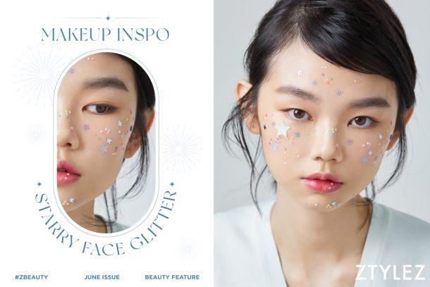 【#ZBeauty】MAKEUP INSPO – Starry Face Glitter