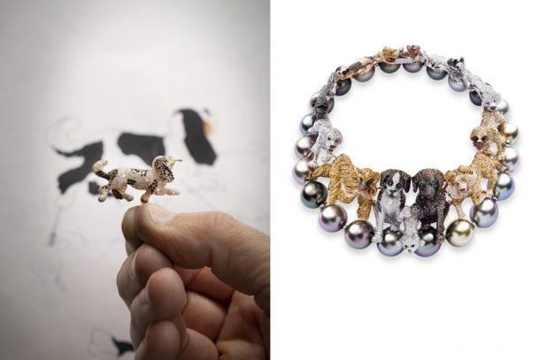 用超過9000顆寶石打造的狗狗項鏈!認識 Chopard 2021 Red Carpet 高級珠寶系列裡的可愛動物!