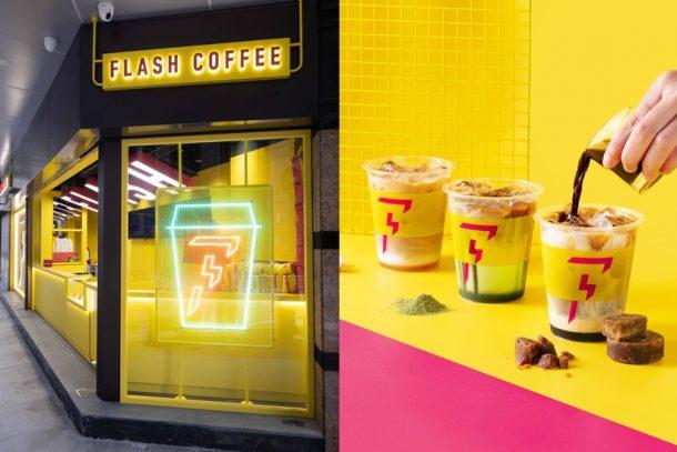 新加坡人氣 Flash Coffee 登陸上環!必試香港限定茶餐廳風味咖啡!